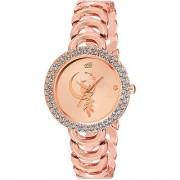 Varni Retail Bracelate pattern-Rose gold-star-dial-women-VR