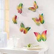 Sticker 3D pentru perete Fluturi Magici