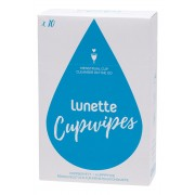 Menstrual Cup Cleansing Wipes - Cupwipes x10