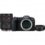 Canon Eos Rp + Rf 24-105mm F/4l Is Usm + Adattatore Ef-Eos R - 2 Anni Di Garanzia In Italia
