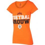 KNVB - Nederlands Elftal T-shirt Dames Voetbal Vrouwen Blanco-M