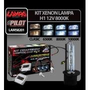 Kit Xenon H.I.D. Lampa H1 12V - 8000K