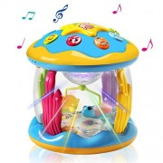 HOMOFY Baby Toys Ocean Park Rotating Projector,Various Pacify Music & Light,Super Fun,Early Educational Toys for 1 2 3 Year Girls and Boys Kids Or ToddlersBEST Gifts (Ocean Park Rotating Toys)