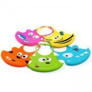 Бебешки лигавник PVC с усмивка 6м-налични 5 цвята, 1343 Babyono, 0130001