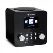 Auna IR-120 Radio Internet WiFi DNLA UPnP USB commande par appli - noir
