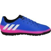 adidas voetbalschoenen Messi 16.3 TF junior blauw/roze mt 30