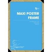 keret poszter (61x91,5 cm) - Oak - GB Posters - FMMXA1OK