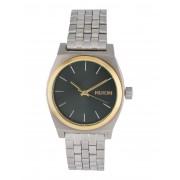 ユニセックス NIXON A1130 MEDIUM TIME TELLER 腕時計 シルバー