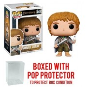 Funko Pop Movies: The Lord of Rings - Samwise Gamgee #445 Vinyl Figure (Bundled with Box Protector Case)
