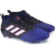 Adidas ACE 17.1 PRIMEKNIT FG Football Shoes(Black, Blue)