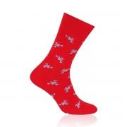 Férfi zokni Willsoor 6966 -ban piros szín