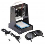ER NEJE JZ-5 500mW USB DIY Impresora Láser MÁQUINA DE GRABADO Grabado