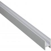 Profil H aluminiu pentru benzi led, (L x l x Î) 1000 x 18,4 x 30 mm, Barthelme BARdolino