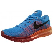 Nike Men's Flyknit Air Max Vivid Blue Running Shoes -7.5 UK/India (42 EU)(8.5 US)
