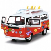 Masina Copii Play Dickie Toys Volkswagen Surfer Van cu accesorii