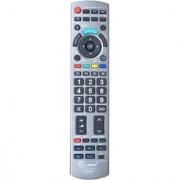 LRIPL RM-1725 Panasonic Universal LED/LCD TV Remote Controller (Smoke Grey)