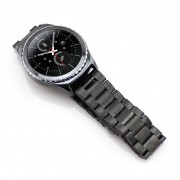 Stainless Steel Watchband for Samsung Gear S2 Classic R732 - Black