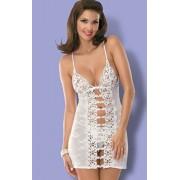 Bride chemise komplet (biały)