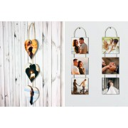Fab Deco Ltd - Deco Matters £6.99 instead of £44.99 for personalised hanging photo panels from Deco Matters - save 84%