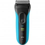 Afeitadora Braun Series 3 3040s Wet & Dry-Azul