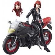 Hasbro Marvel Legends - Black Widow with Motorcycle