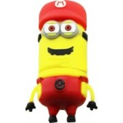 Microware Red Cap New Shape Designer Fancy Pendrive 16 GB Pen Drive(Yellow)