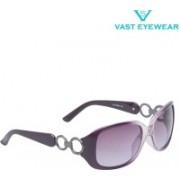 Vast Retro Square Sunglasses(Grey)