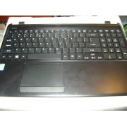 Carcasa inferioara - palmrest cu touchpad si tastatura inclusa laptop Acer Travelmate P255