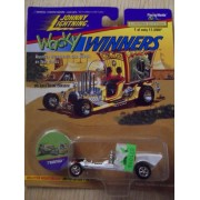 Johnny Lightning Wacky Winners T'Rantula White Die-Cast Car Series 1 W/ Collectible Coin