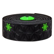 Supacaz Super Sticky Kush Galaxy Stuur Tape - Neon Groen