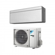 Daikin Climatizzatore/Condizionatore Daikin Monosplit Parete Stylish Inverter 9000 btu Silver (Argento) FTXA25AS/RXA25A