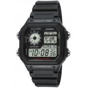 Ceas barbatesc Casio AE-1200WH-1AVEF Collection Cronograf 10 ATM 42 mm