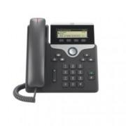 "VoIP телефон Cisco IP Phone 7811, 3.2"" (8.13 cm) LCD чернобял дисплей, 1 линии, 2x 10/100Base-TX, PoE, черен"