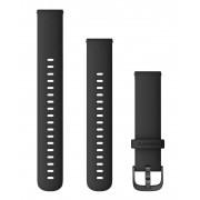Garmin Quick Release 18 Silikon - Klockarmband - Svart
