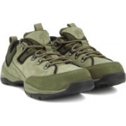 Woodland Leather Sneakers For Men(Khaki)
