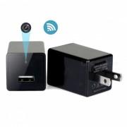 ENKLOV Wifi cargador de pared USB con camara oculta