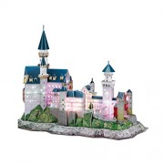 CubicFun 3D Puzzle LED-Series Neuschwanstein Castle - Germany