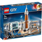 Lego City 60228 space rocket with control center