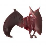 Geen Speelgoed Pterodactyl rood bruine dinosaurus 12 cm