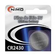 Pila Litio botón CR2430