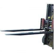 EUROKRAFT Gabelverlängerungen, 1 Paar für Gabel-BxH 100 x 40 mm Länge 2400 mm