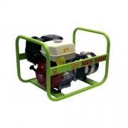 Generator de curent electric portabil monofazat 4.6KW, cu motor Honda, Pramac MES5000