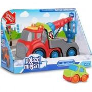 Camion cu sunet pentru un copil mic - vehicule municipale într-o cutie