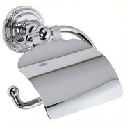 GINGER 1127/ORB Chelsea Portarrollos de papel higiénico con capucha, color bronce, Polished Chrome