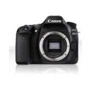 Canon Camara digital reflex canon eos 80d body (solo cuerpo) cmos/ 25.8mp/ digic 6/ 45 puntos enfoque/ nfc/ wifi