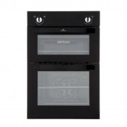 New World Black Double Built In Electric Oven