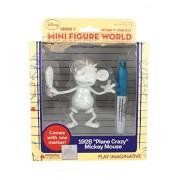 "Disney Design It Yourself Mini Figure World Series 1 - 1928 ""Plane Crazy"" Mickey Mouse"
