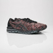 Asics gel-quantum 360 knit 2 Black/Classic Red/Stone Grey