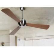Ventilador techo led vintage roble nogal 50960