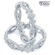 Sukkhi Rhodium Plated Ad Bangles - Option 1